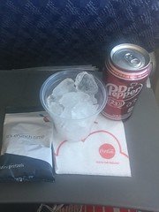 (reezy87) Tags: american americanairlines boeing 737800 737 738 winglet chicago boston ohare logan airport mcdonnelldouglas md80 inflightmeal food menu dr pepper