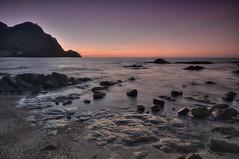 Amanece (Aristides Daz) Tags: amanecer mar mediterrneo rocas volcnicas cabo de gata sigma 1020