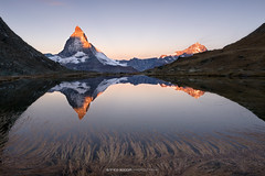 #009 Matterhorn at sunrise (Enrico Boggia | Photography) Tags: matte vallese wallis gornergrat gornergletscher riffelsee enricoboggia svizzera schweiz sunrise alba mountain montagna cervino matterhorn zermatt ottobre 2016