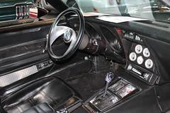 Chevrolet Corvette C3 (1976) (Mc Steff) Tags: chevrolet corvette c3 chevy 1976 retroclassicsmessestuttgart2016 dashboard armaturenbrett skull totenkopf