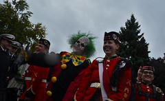 Zombie Walk Kingston221016_0296 (Hilbert 1958) Tags: zombiewalkkingston ontario 22october2016 blood gore brainfood confederationbasin cityhall celebration undead makeup costume play