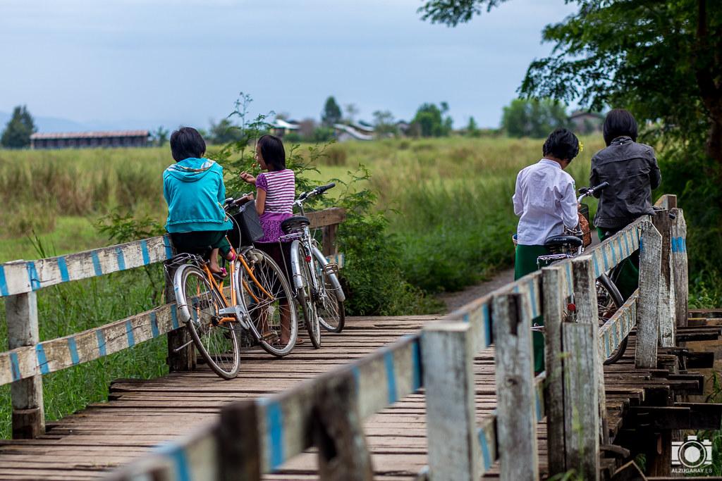 En las afueras de Nyaungshwe