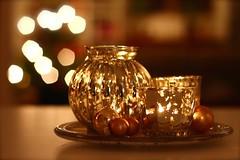 Happy new year! (Explore 2014-12-31) (nillamaria) Tags: christmas gold candle candlelantern