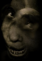monster7 (Cyrsiam) Tags: smile monster giant bacon noir darkness alien freak demon devil monstrosity nut francisbacon goliath sourire junkie addict fiend ogre behemoth darkart monstre colossus junky teras darksmile lususnaturae