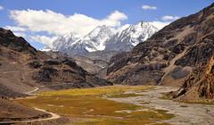 Near Kunzam Pass (mala singh) Tags: autumn india mountains valley himalayas himachalpradesh kunzumpass lahaulspiti