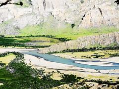 Ro de las Vueltas. El Chaltn (Daniel.Lgnes) Tags: patagonia argentina ro river south sur ros elchalten vueltas elchaltn surargentino rodelasvueltas