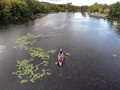 Gallup Park -Geddes Pond - Ann Arbor, Mi. (bigjohn1941) Tags: park mi pond annarbor gallup canoers geedes