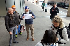 Flickar in Verona () Tags: street friends portrait photography photo flickr foto photographer photos group meeting human verona fotografia amici ritratto stefano fotografo gruppo 2014 incontro raduno trucco binario21 flickeriani zush stefanotrucco