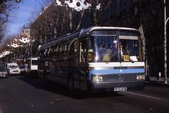 JHM-1986-1256 - France, Nice, autocar Mercedes (jhm0284) Tags: france nice 06nice niceam alpesmaritimes