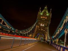 Tower Bridge, London (Wizard CG) Tags: world sky london architecture night digital towerbridge ed four long exposure shots ngc olympus tourist micro attraction 43 thirds trekker m43 mzuiko