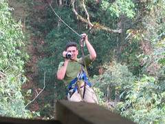 Ziplining Through Bokeo With Gibbon Experience