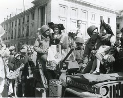 607th Tank Destroyer Battalion-Company B personnel in Reims, France, Aug. 31, 1944 (Natman1) Tags: wwii ww2 1944 usarmy reimsfrance tankdestroyer 90thinfantrydivision 607thtankdestroyerbattalion
