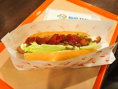 Blue Seal Restaurant - Taco Hot Dog (Nelo Hotsuma) Tags: blue food dog hot art japan asia restaurants taco seal  okinawa taste  culinary reastaurant
