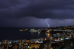 Storm (Francois el Bacha) Tags: lighting lebanon storm liban jounieh clairs