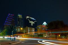 JW MARRIOTT Lights Up Austin (-Dons) Tags: usa skyline night austin downtown texas unitedstates tx longhorn jwmarriott austonian