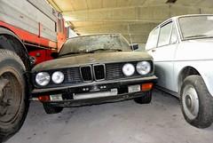 bmw 528 (riccardo nassisi) Tags: auto car truck rust rusty collection scrapyard wreck scrap piacenza collezione politi abbandoned abbandonata