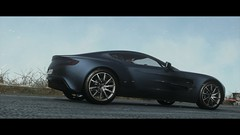 DRIVECLUB | Aston Martin One-77 | Atlanterhavsvegen Norway (GTAndy36-) Tags: blue autumn winter snow playing leaves car rain weather norway one automobile driving martin racing virtual damage driver form playstation 77 supercar aston racer elegance ps4 one77 driveclub