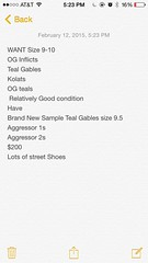 What I want guys!!!! Lemme know if you know anyone who has and is willing to trade what I have! (noahdouble07) Tags: sample asics adidas gables teals ogs wrestlingshoes kolats inflicts