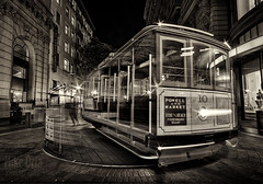 The Turnaround (mikeSF_) Tags: sanfrancisco street longexposure night silver mono bay blackwhite market class workshop cablecar nik hdr photoworkshop turnaround nighteyes wwwmikeoriazenfoliocom mikeoria mikeoriaphotography wwwmikeoriacom