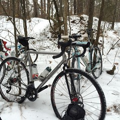 Fat bikes! #weavercycleworks #custombicycles #rideinthesnow