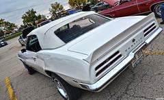 1969 Pontiac Firebird (Chad Horwedel) Tags: white classic car illinois convertible firebird pontiac downersgrove pontiacfirebird 1969pontiacfirebird cozzicorner