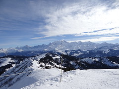 Les Alpes (Mrs Saori) Tags: snow ski montagne alpes neige montblanc