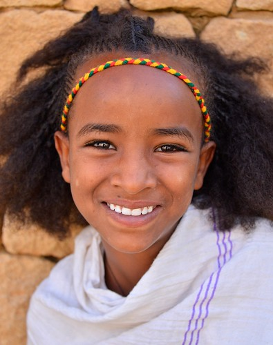Tigray Girl, Ethiopia