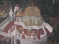 Painted Walls of Wat Phra Kaew