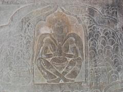 Bas Reliefs in Angkor Wat