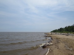 Great Slave Lake, looking east (jimbob_malone) Tags: northwestterritories 2014 hayriver