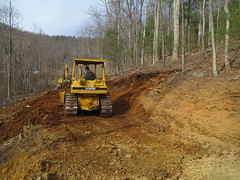 Driveway widening and grading
