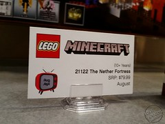 Toy Fair 2015 LEGO Minecraft 07 (IdleHandsBlog) Tags: toys lego videogames buildingsets minecraft toyfair2015