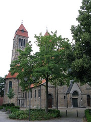 Münster (Westfalen), Germany. Hiltrup (photobeppus) Tags: architecture buildings germany deutschland churches holy sacred christianity münster munster germania stclemens hiltrup nordrheinwesfalen