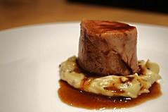 Pork with creamed leeks (Mike Kirwan) Tags: jus pork sousvide