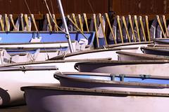 Rudders And Boats (joegeraci364) Tags: color museum barn coast boat marine scenic shore maritime sail mast nautical skiff mystic seaport rudder