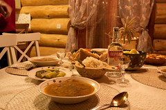 (nekto_nektov) Tags: county winter food rural holidays russia 2015 repast winterholidays