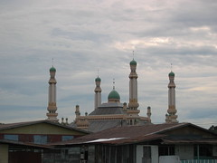 Mosque Towers Over the City