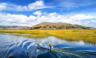 Sailing Titicaca