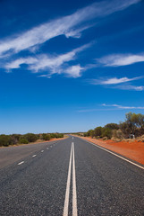 The Stuart Highway (max.fontanelli) Tags: blue red sky rock desert nt australia kings uluru northern ayers territory kanyon