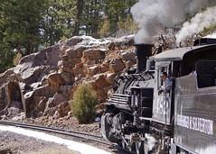 Durango & Silverton Narrow Gauge Railroad (videoqueen) Tags: train colorado silverton historic mining durango steamtrain sanjuanmountains narrowgauge cascadecanyon durangosilvertonnarrowgaugerailroad