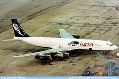 Beta Cargo - PP-BSE (Aviacaobrasil) Tags: betacargo boeing707 alexandrebarros