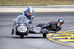Black BMW R65 Sidecar, Eastern Creek (brettmichal Images) Tags: park 3 black classic sports sport creek canon lens outfit surf post side north sydney champs july sigma racing nsw 7d bmw motorcycle 5d mm pk racers 9th eastern circuit rd sidecar racer motorsport mkii 2016 restorations r65 pcra 150500