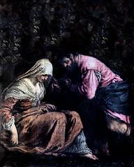 IMG_2950K Jacopo da Ponte (Bassano)  1515-1592. Venise. Judas et Thamar. 1564.  Montpellier Muse Fabre. (jean louis mazieres) Tags: france museum painting montpellier muse museo peintures peintres jacopobassano musefabre
