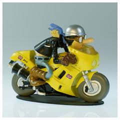 Joe Bar Team Thriumph 900 Daytona (iveka19) Tags: joebarteam joebar figurine moto motorcycle ventsdouest figur motard motorradfahrer biker bd comicbook thriumph900daytona thriumph
