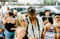 in the crowd (mfauscette) Tags: 35mm fsc ishootfilm istillshootfilm kodak kodakportra400 nikon nikonf6 analog asburypark film filmisnotdead filmshooterscollective jerseyshore street