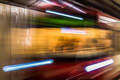Where does she go? (d90fz8) Tags: nuernberg nuremberg ubahn subway transport verkehr transportation kaulbachplatz longexposure langzeichtbelichtung underground metro traffic motion bewegung unschrfe train station blur