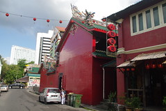 Temple, Kuching, Sarawak, Malaysia (ARNAUD_Z_VOYAGE) Tags: kuching sarawak malaysia federal territory national capital city landscape south east asia street market island borneo