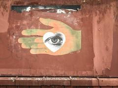 Hand Heart Eye Graffiti - RiNo, Denver, Colorado (ChrisGoldNY) Tags: chrisgoldny chrisgoldberg chrisgoldphoto forsale bookcover albumcover bookcovers albumcovers licensing america usa colorado denver milehighcity rino rivernorth graffiti streetart art urban city streets rinodistrict