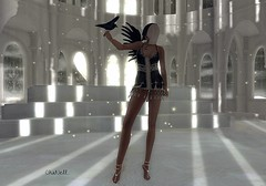 AngeL.... (chanell.resident) Tags: beach dress mesh sandals pack slink anael lesfeesendormies