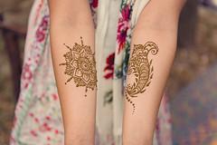 mehndi (jojoannabanana) Tags: floral petals pattern arms bokeh henna mehndi 3662016